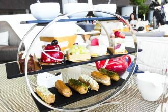 洲際酒店下午茶